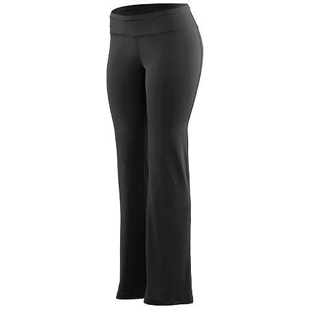 TRUE- WIDE WAIST BAND POLY/SPANDEX PANTS
