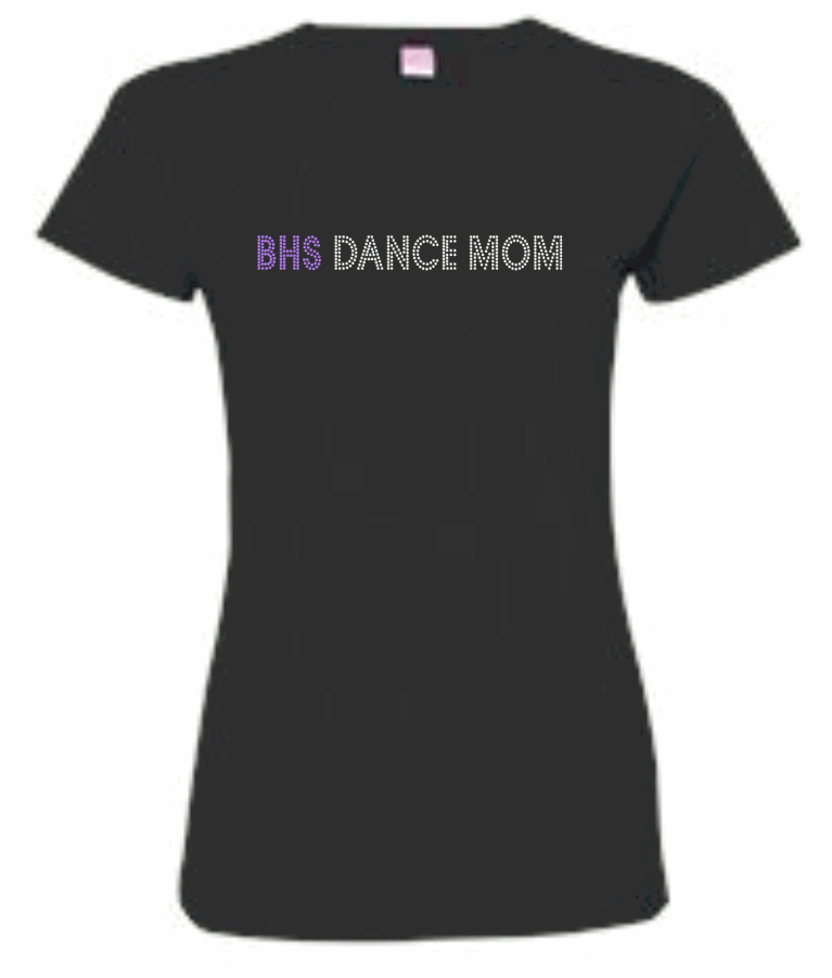 BHS FITTED LADIES TEE (DANCE MOM)
