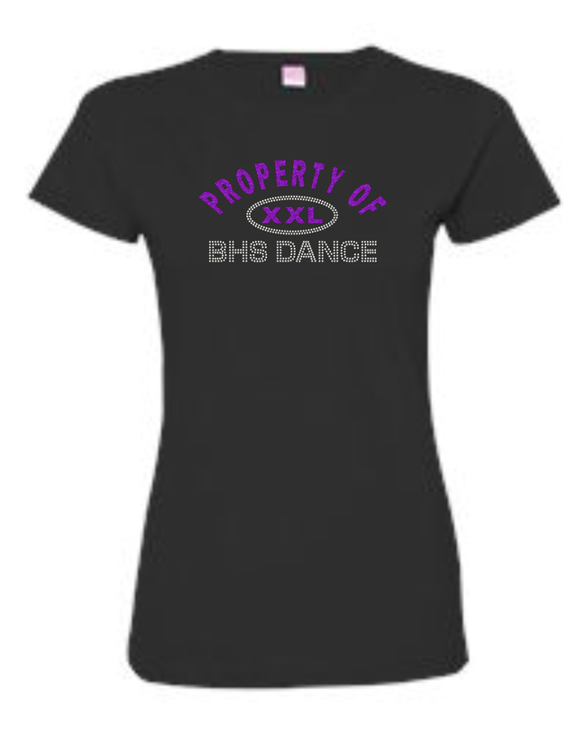 BHS FITTED LADIES TEE (PROPERTY OF)