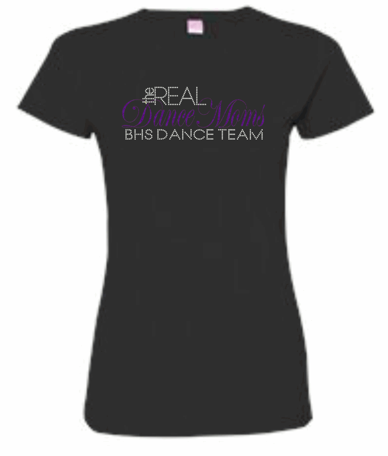 BHS FITTED LADIES TEE (REAL MOMS)