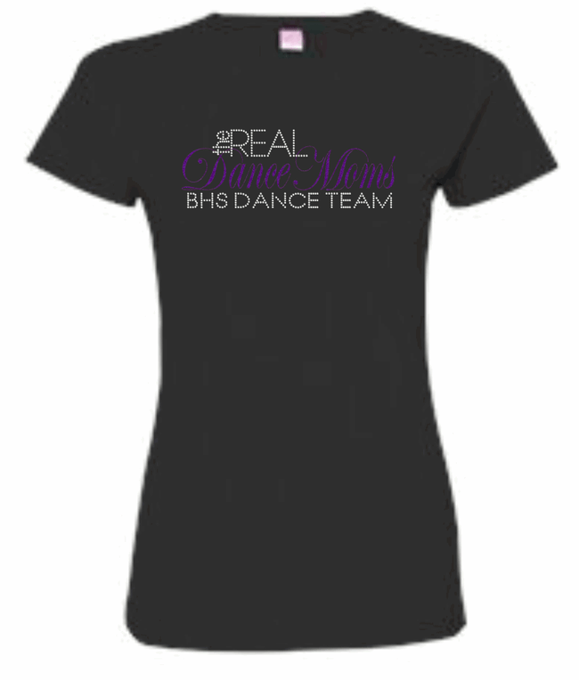 REAL DANCE MOMS RHINESTONE T-SHIRTS