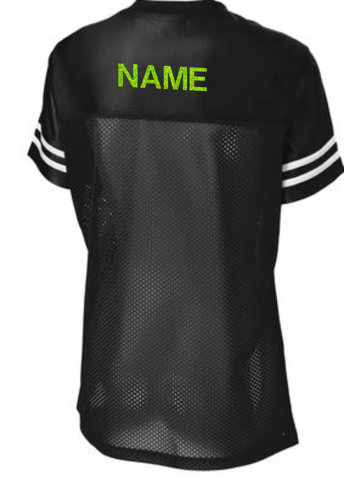 AKA FITTED BLING LADIES JERSEY 1