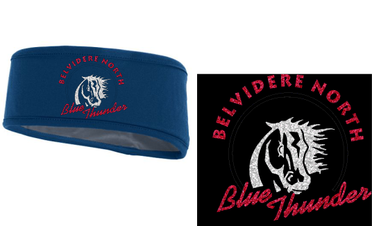 "BNHS ""BLINGED""  Fleece Headband"