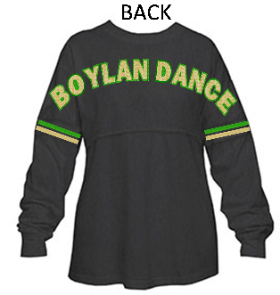 BOYLAN GLITTER SPIRIT TOP