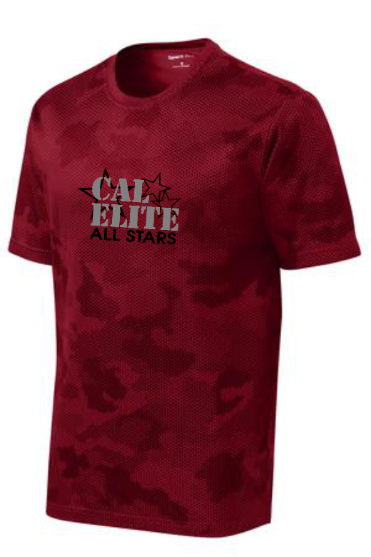 CAL ELITE CAMO TEE- UNISEX TEE (YOUTH & ADULTS)