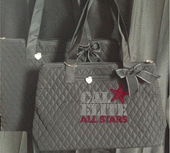 CAL ELITE RHINESTONE TOTE BAG