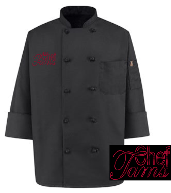 """CHEF TAMS"" RHINESTONE TRANSFER ONLY"