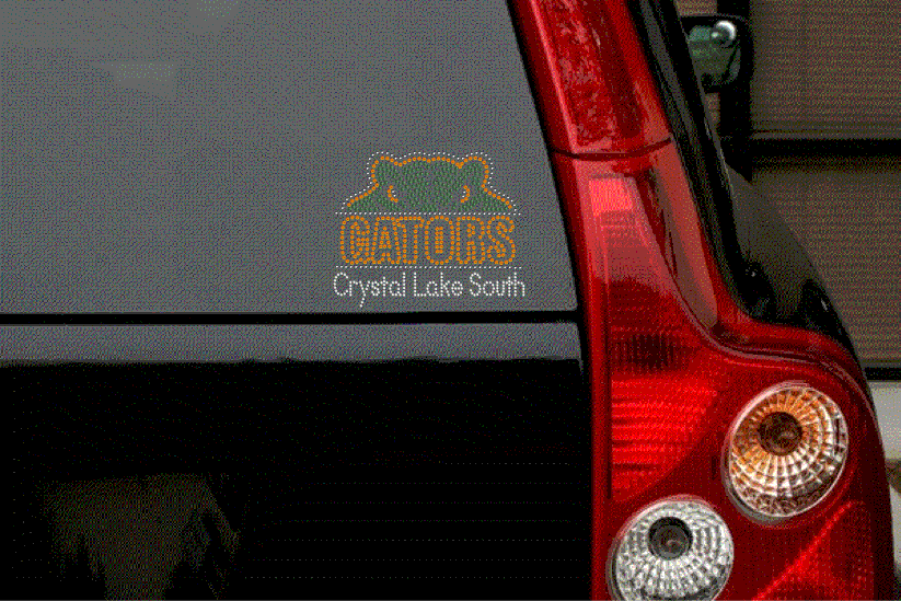 CLS RHINESTONE CAR DECAL
