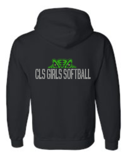 CLS HOODED ZIPPED SWEATSHIRT