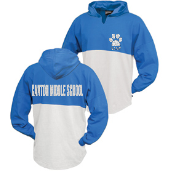 CMS Bling Hooded Spirit Top