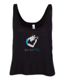 DanceFree Glitter Cropped Tank