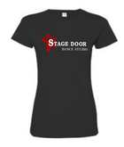 STAGE DOOR FITTED TEE