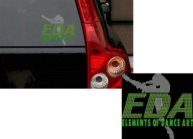 EDA COMPANY CAR DECAL