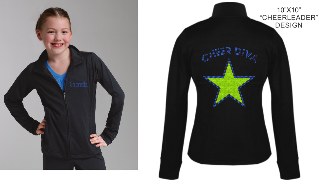 BLING IT CITY -CHEER DIVA JACKET