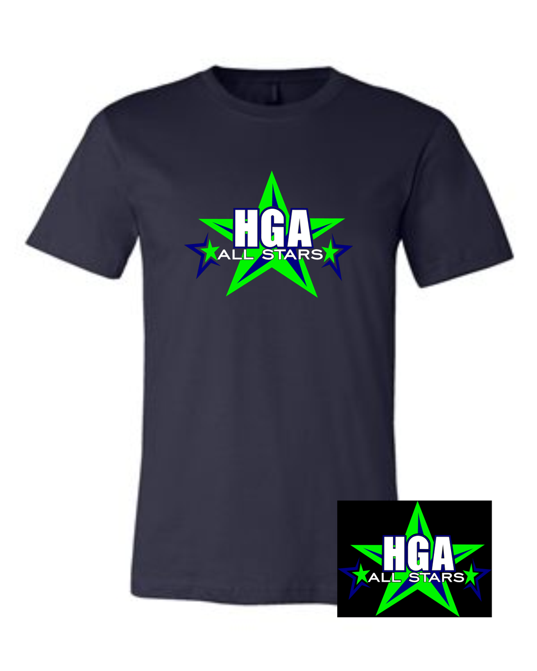 HGA ALLSTARS SCREEN PRINT TEE 2