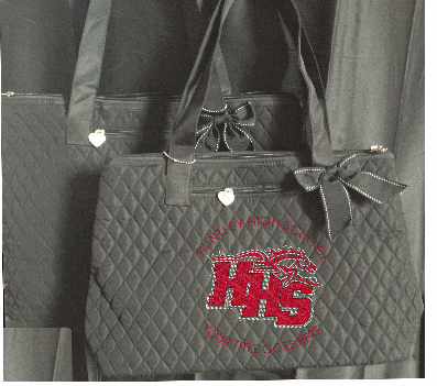 "HHS ""BLINGED"" TOTE BAG"