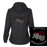 "HHS ""BLINGED"" LINED HOODED PARKER 2"