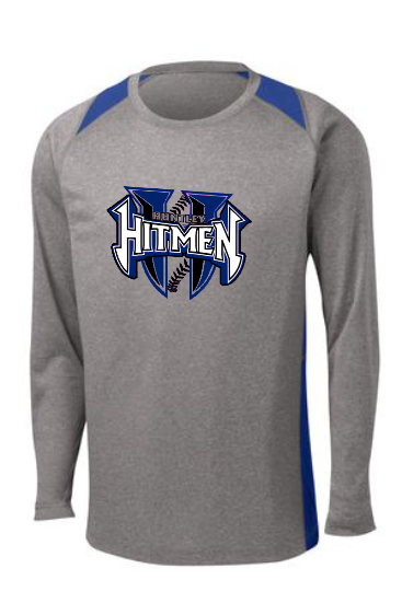 HITMEN Colorblock Contender Long Sleeve Tee-UNISEX