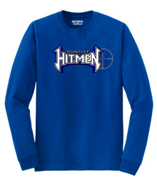 HITMEN LOGO LONG SLEEVE TEE 2