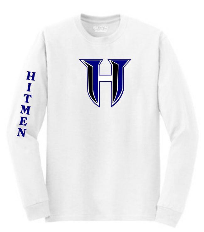HITMEN LOGO LONG SLEEVE TEE 1