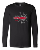 HUNTLEY SPARKS GLITTER/RHINESTONE TEE
