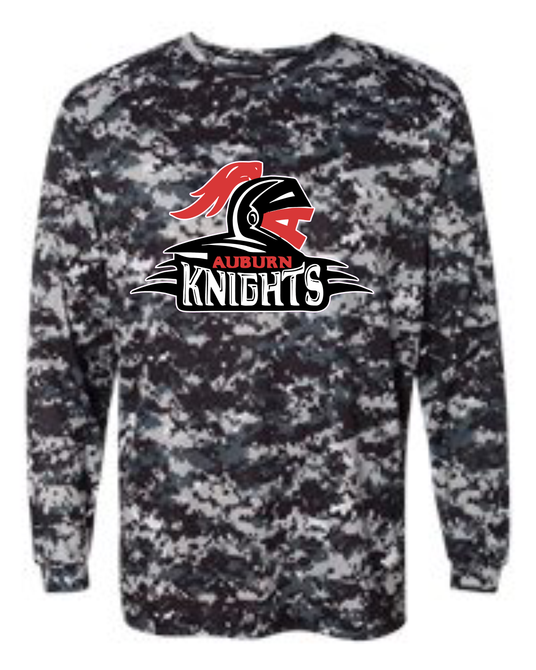Rockford Knights Camo Tee Long Sleeve