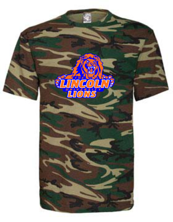 LINCOLN UNIVERSITY CAMO TEE (2 DESIGNS AVAILABLE)