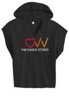LOVV GLITTER HOODIE TEE (PERSONALIZE ME!)