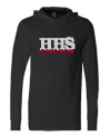 HHS BLING HOODED TEE- CHEER MOM