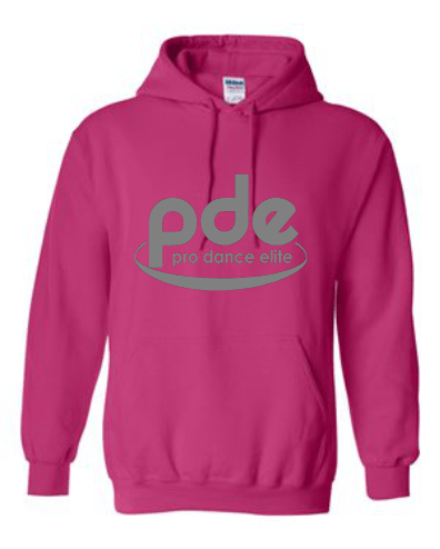 "PDE ""NON BLING"" HOODED PULLOVER SWEATSHIRT 2 (3 COLORS AVAILABLE)"