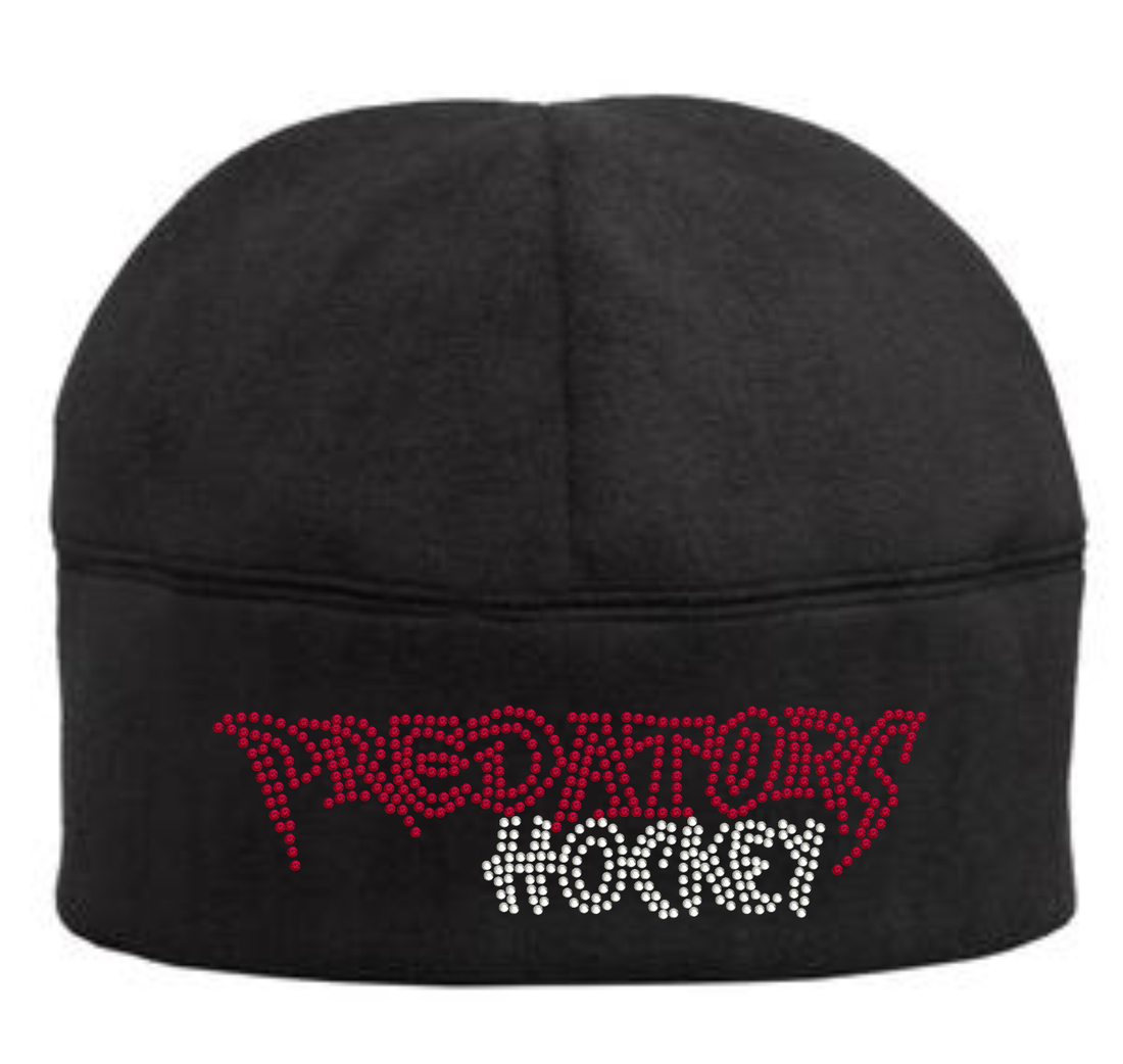 "PREDATORS HOCKEY ""BLINGED"" FLEECE BEANIE"