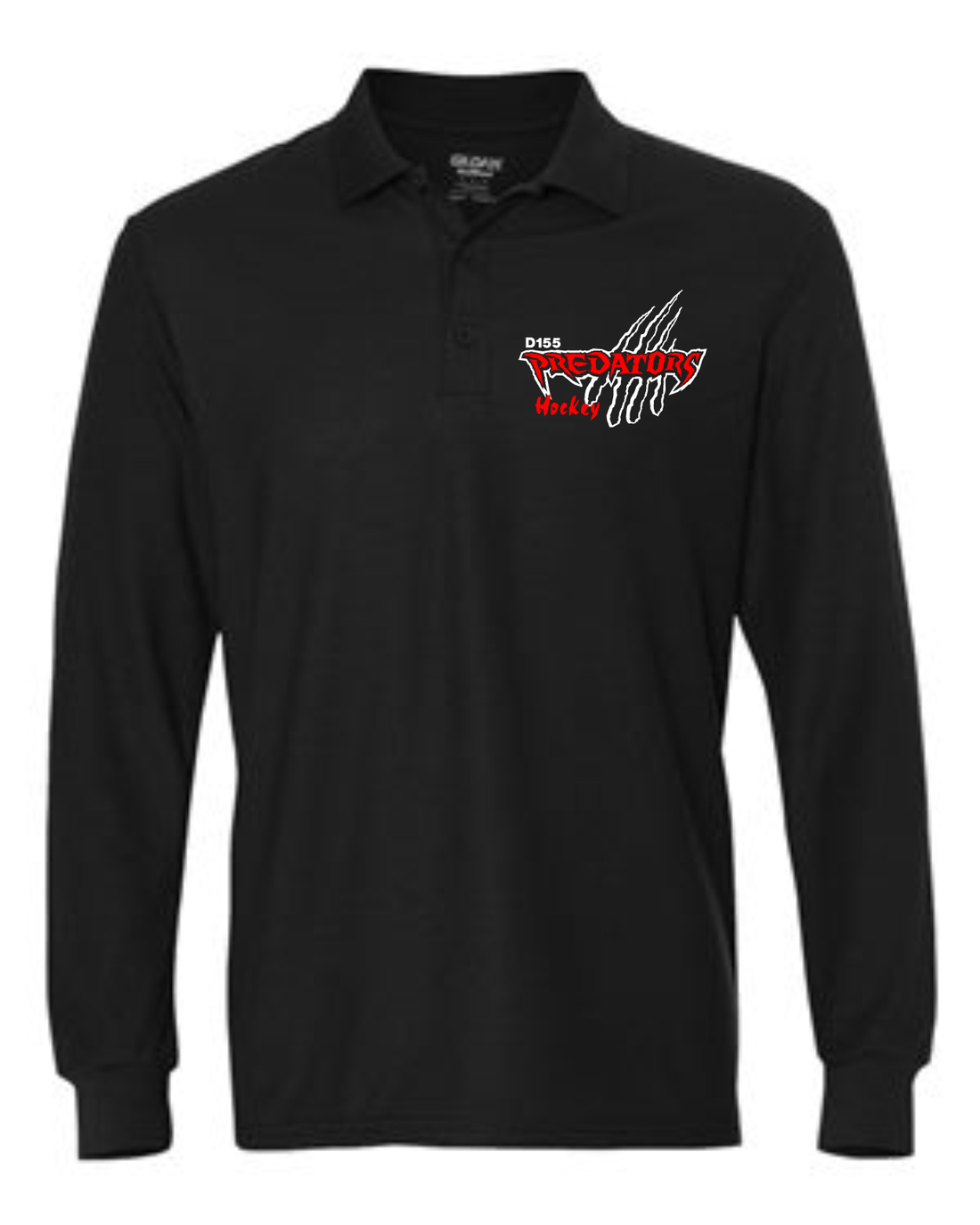 PREDATORS HOCKEY DRYBLEND LONG SLEEVE POLO