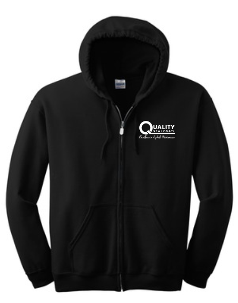 QUALITY SEALCOAT FULL ZIP SWEATSHIRT