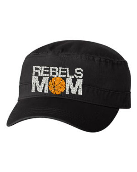 REBELS MOM RHINESTONE FIDEL CAP