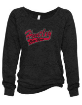 HHS BLING SLOUCHY SWEATSHIRT- CHEER MOM
