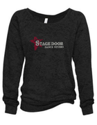 STAGE DOOR SLOUCHY BURNOUT SWEATSHIRT