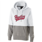 HHS Glitter Two Tone Hooded Sweatshirt- CHEER MOM
