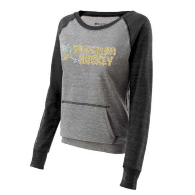 YELLOWJACKETS TWO TONE SWEATSHIRT