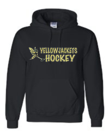 YELLOWJACKETS SWEATSHIRT (NAME & NUMBER ON THE BACK)