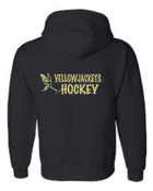 YELLOWJACKETS HOODED ZIPPED SWEATSHIRT