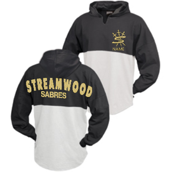 Streamwood Bling Hooded Spirit Top