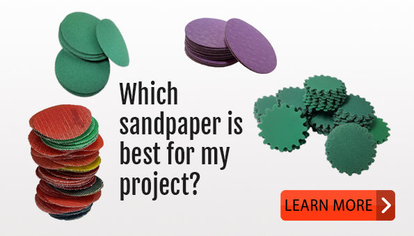 Choosing the right sandpaper