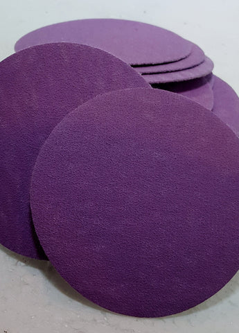 3-inch Purple Power Sanding Discs - pkgs of 25