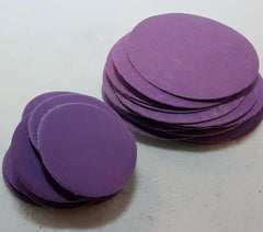 "2"" and 3"" Purple Sanding Discs"