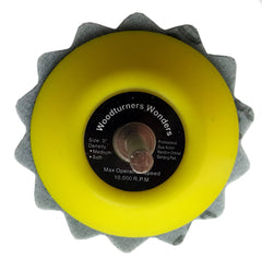 "3"" GreenWave Sanding Disc made with Mylar"