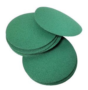 "Remover-Smoother Green Discs - 3"" Sample Pkg"