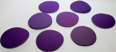 Purple Power Sanding Disc SAMPLE PACK 3-inch - 40 Discs, 8 grits