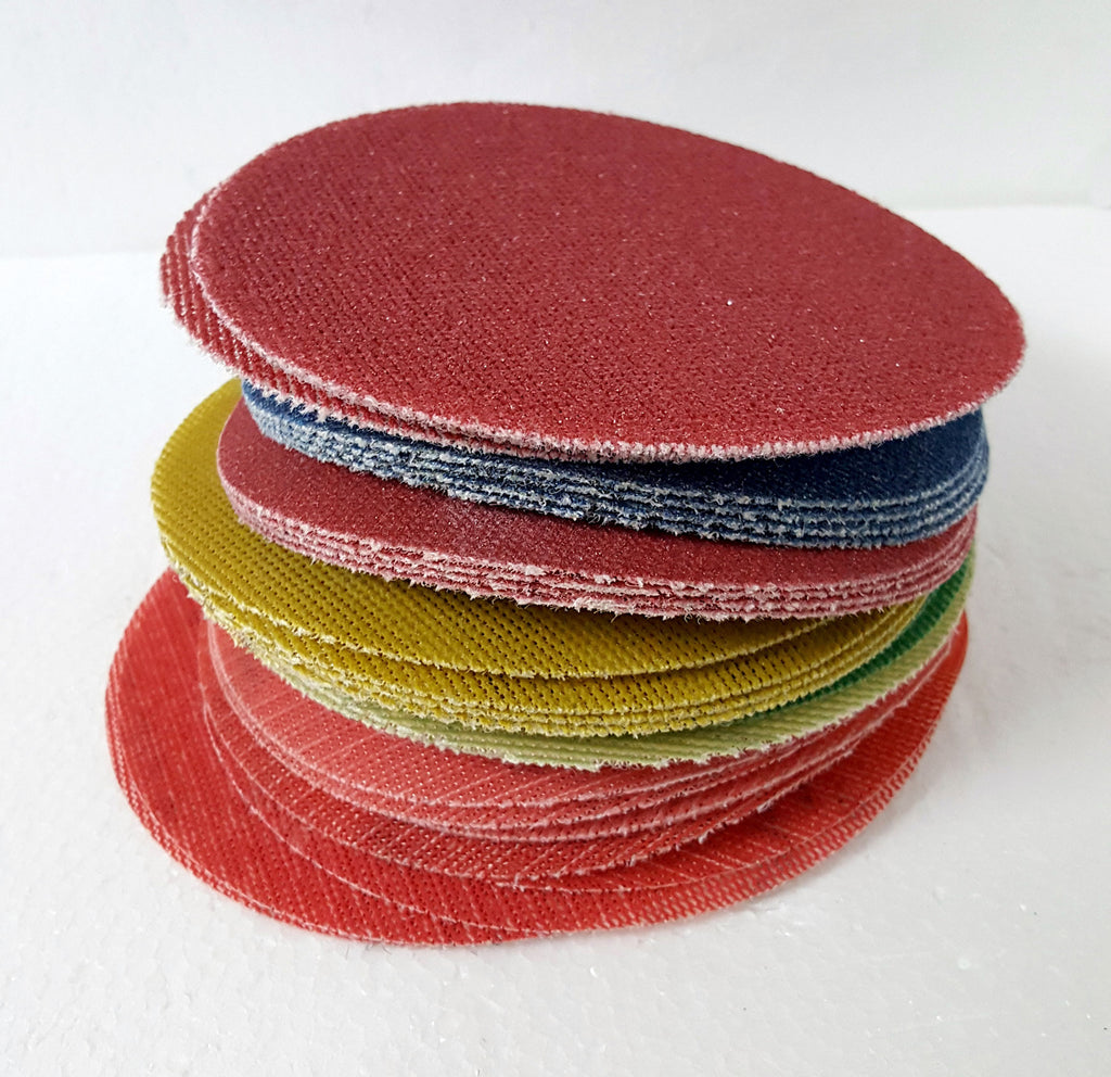 "Wonder Weave 5"" Sanding Discs - HIGH GRITS Sample PKG"
