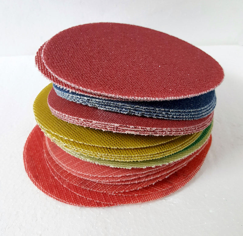 "Wonder Weave 6"" Sanding Discs - HIGH GRITS Sample PKG"
