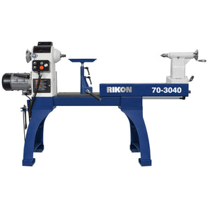"Rikon 30"" x 40"" VSR Lathe with Sliding Bed, Model 70-3040"